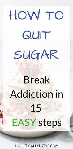 Healthy Living Tips Struggling to quit sugar? use these fool proof steps to be sugar free EASILY! - How to break free from sugar addiction and quit sugar for good. I'm sure you've heard all about how bad sugar is for you. 21 Day Sugar Detox, Sugar Detox Diet, No Sugar Diet, Detox From Sugar, Diet Detox, Cleanse Diet, Healthy Detox, Sugar Free Diet Plan, Bad Sugar