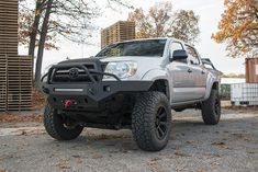 VICTORY 4X4 STRIKE FRONT BUMPER WITH TUBEWORK - TOYOTA TACOMA 2ND GEN (05-11) Tacoma Bumper, Tacoma Truck, Tacoma Accessories, Toyota Tacoma 4x4, Trd, Jeeps, Rigs, Whale, Monster Trucks