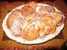 Italian fried dough known as sfinges or zeppoli is sweet to eat at the end of a meal or just for the fun of it.