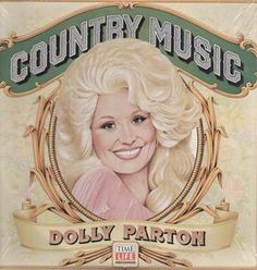 Dolly Parton - Country Music - album cover