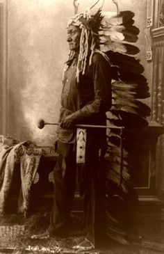 Chief Sitting Bull (Tatanka Lyotake), Sioux (Lakota)~1831-1890