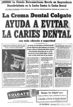 Colgate. Publicado el 2 de octubre de 1949.