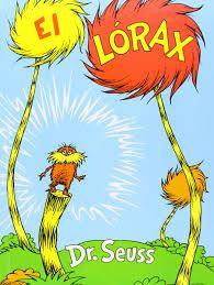 El Lorax dr. Suess 5/15