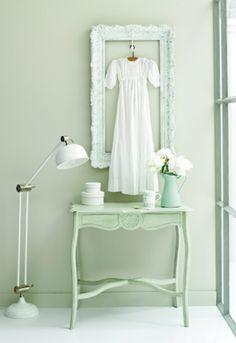soft green - brocante - zacht groen