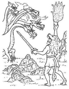 HERCULES GREEK MYTHOLOGY-COLORING PAGES - Αναζήτηση Google