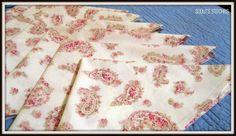 I hate paper napkins!!!  Cloth Napkin Tutorial