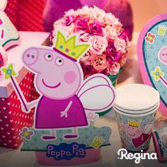 Decoração Peppa Princesa