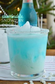 Abominable Snowman Cocktail Recipe