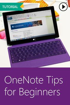 Get started with OneNote in your classroom by watching this simple, interactive tutorial focused on mastering the basics! Computer Literacy, Computer Programming, One Note Microsoft, Microsoft Office, Ms Office 365, Outlook Calendar, Classroom Management, Class Management, Project Management
