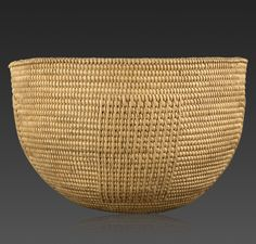 Africa | 'Unyazi' Basketry Bowl from the Zulu people of South Africa | ca. 19th century | Fiber