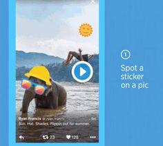 #Twitter #fotos #stickers Twitter añade stickers para que los pongamos en las fotos