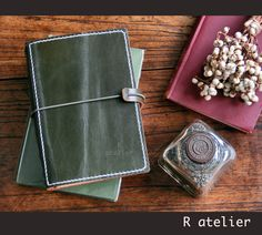 $35+   R.atelier A6 Size Traveler's Notebook Leather Cover #leathercover #leatherjournal #leathergifts #journaling