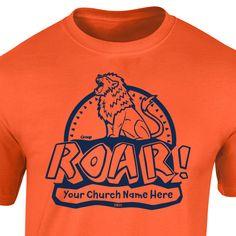 VBS Custom T-Shirt - Roar VBS