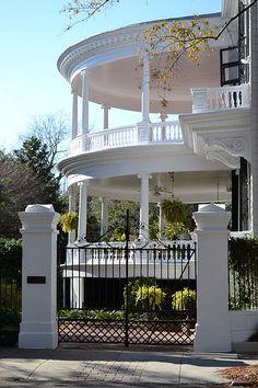 My FAVORITE house on Meeting Street in Charleston, SC
