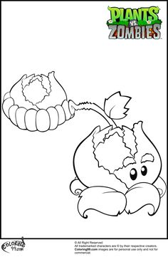 plants vs zombies coloring pages coloring99com