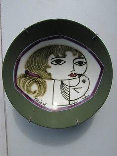 Mari Simmulson Upsala Ekeby Pottery Bowl