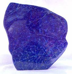 Lapis Lazuli 1660 Gram HUGE MUSEUM SIZE Beautiful  Deep Blue Tumble@Afghanistan