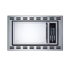 Summit Appliance 0.9 cu. ft. Built-In Microwave in Stainless Steel-OTR24 - The Home Depot