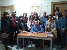 Santiago Posteguillo con los alumnos Taller Escritura