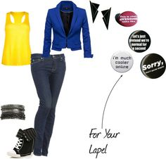 """This is the best outfit I think i've made! Opinions? What would you change?"" by bluehaloninja ❤ liked on Polyvore"