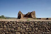 Pecos Pueblo Ruins http://1-david-gordon.artistwebsites.com/featured/pecos-pueblo-ruins-no-2-dave-gordon.html