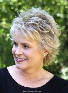 15 Superb Short Shag Haircuts, Frisuren, Short Shag Hairstyles for Older Women. Modern Short Hairstyles, Short Shag Hairstyles, Feathered Hairstyles, Short Hairstyles For Women, Short Haircuts, Beautiful Hairstyles, Textured Hairstyles, Hairstyles 2018, Wedge Hairstyles
