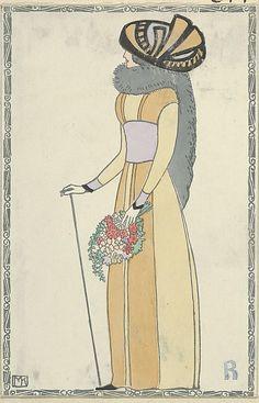 Fashion (Mode), Artist: Mela Koehler (Austrian, Vienna 1885–1960 Stockholm), Publisher: Wiener Werkstätte, Date: 1910