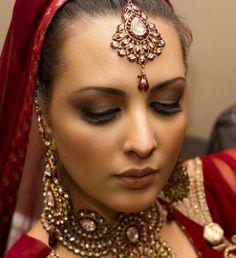 indian bridal makeup/ pakistani brdal looks