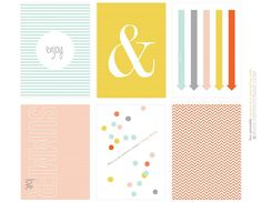 Summer Break Free Project Life Card Freebie | [ One Velvet Morning ]