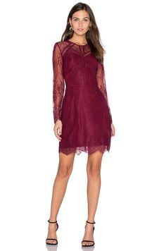 df277db47ce7d Shop for Greylin Shirley Lace Dress in Bordeaux at REVOLVE. Elizabeth Larson