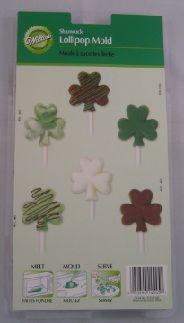 Wilton Shamrock Lollipop Mould St Patricks Day Cakes, Cake Decorating, Presentation, Display, Floor Space, Billboard