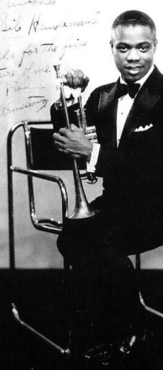 """Louis Armstrong"" by Ernst Moerman"