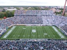 Spartan Stadium: East Lansing, Michigan and home of the Michigan State Spartans. This is a great atmosphere in which to watch a college football game.