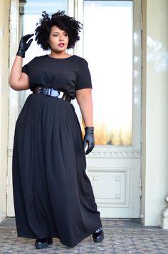 f831fcde Gordinhas Lindas, Beleza Negra, Luxo, Plus Size Fashion Para Mulheres, Moda  Tamanho