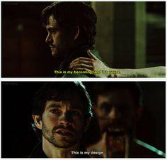 What you feel, finally matches the reality of what I see. Hannibal 2x10 Naka-Choko