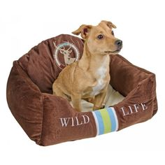 Snugly Bed Wild Life 60x45x28cm CanAgri