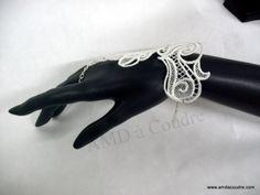broderie, dentelle, lace, wedding, création artisanale par amd a coudre www.amdacoudre.com