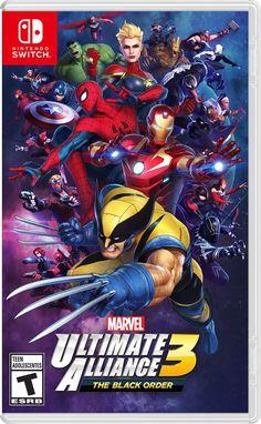 Marvel Ultimate Alliance The Black Order Announced For Nintendo Swtich Iron Man Marvel, Marvel Fan, Marvel Dc Comics, Marvel Heroes, Marvel Characters, Marvel Avengers, Avengers Alliance, Iconic Characters, Cartoon Characters