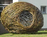 So I really want to make a living willow fort for the kids to play in, but this is even cooler than I was planning! Very 'Where the Wild Things Are'.