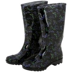 Ultralite™ Flight of the Dragonfly Rain Boots – GreaterGood
