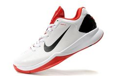 Nike Hyperdunk 2010 X Low Men's Basketball Shoes - White/Red/Black For $66.00 Go To:  http://www.cheapkobeshoesmall.com