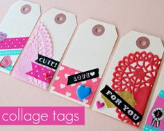 Nice link to collage tags...could be way more than just for Valentine's Day