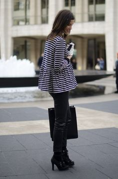 Stylist's Advice- How to wear STRIPES: Tip #1: Mix With Abandon Tip #2: Consider Them A Neutral Tip #3: Think Beyond Basic