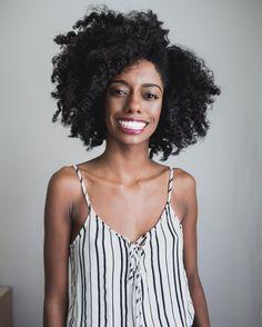 - KRYSTA (@prettylittlefro) Afro hair. Kinky hair. Natural hair. Big hair. Thick hair. Pretty hair. Type 4 hair.