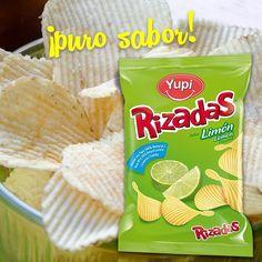 ¡El #crunch con más sabor!, el de mis #Rizadas Limón ;)