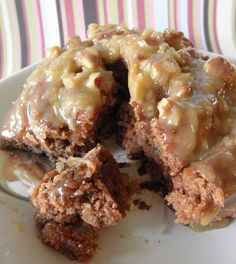 German Chocolate Cinnamon Rolls-I think I must try these!