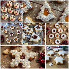 Christmas Sweets, Christmas Baking, Christmas Cookies, Biscotti Cookies, Biscotti Recipe, Cookie Recipes, Snack Recipes, Dessert Recipes, Cookie Cake Designs