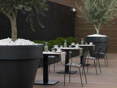 restaurant patio simplicity