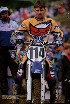 Damon was all business in his 1995 comeback ride at High Point Yamaha Motocross, Motorcycle Racers, Ktm Dirt Bikes, Beast From The East, Vintage Motocross, Big Rig Trucks, Dirtbikes, Motorbikes, Superhero