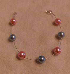 Pink & Blue pearls